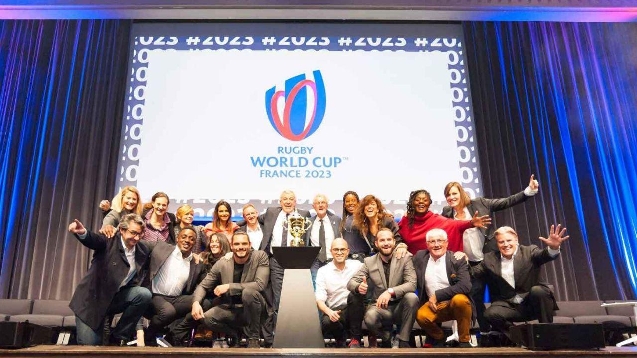 Ambassadrice de la coupe du monde de rugby