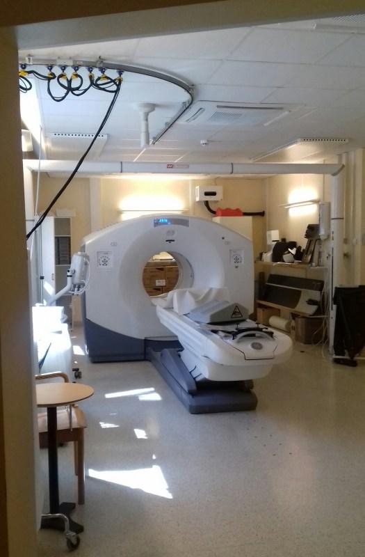Röntgenkamera på Karolinska  Foto: Elisabet Höglund