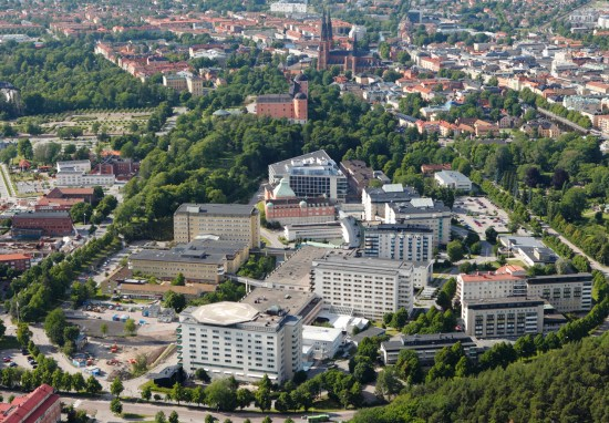Akademiska sjukhuset i Uppsala Foto: akademiska.se