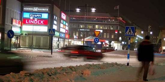 En man anhålls för grov misshandel och olaga hot mot en kvinna i Falun. Bild: Falu stad
