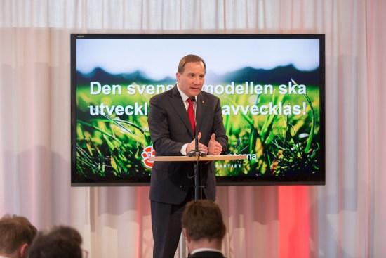 Stefan Löfven (S) partiledare Foto: socialdemokraterna.se