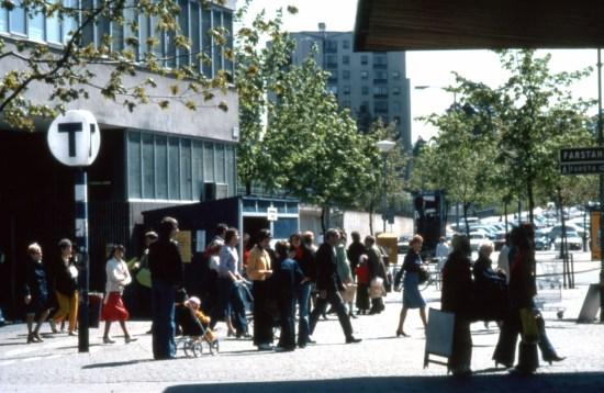 Farsta tunnelbanestation Foto: stockholmskallan.se