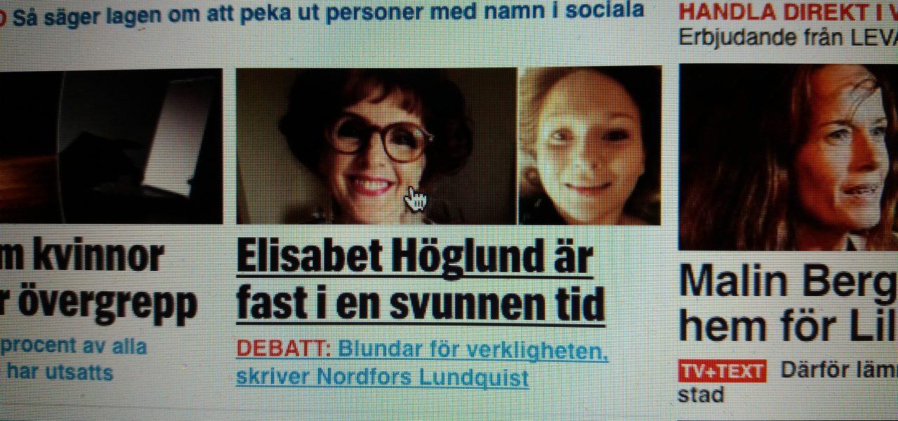 Idag är jag Sveriges mest hatade kvinna på sociala medier! - Elisabet  Höglund 561753687ca9f
