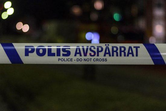 Polisavspärrning Foto: polisen