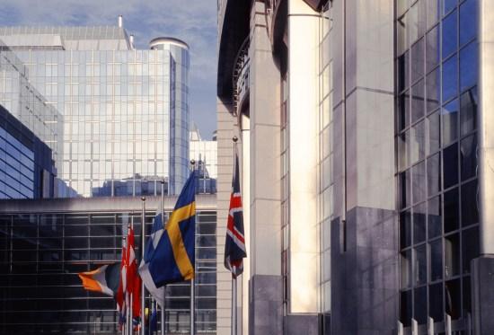 EU-parlamentet i Bryssel Copyright: David Martyn/Dreamstime.com