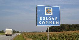 Eslövs kommun Foto: Vägverket