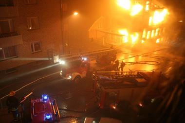 Brand Foto: Räddningstjänsten