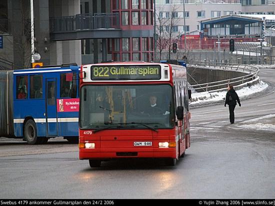 En 20-årig man utsätts för mordförsök vid Gullmarsplan i Stockholm. Foto: slinfo.se