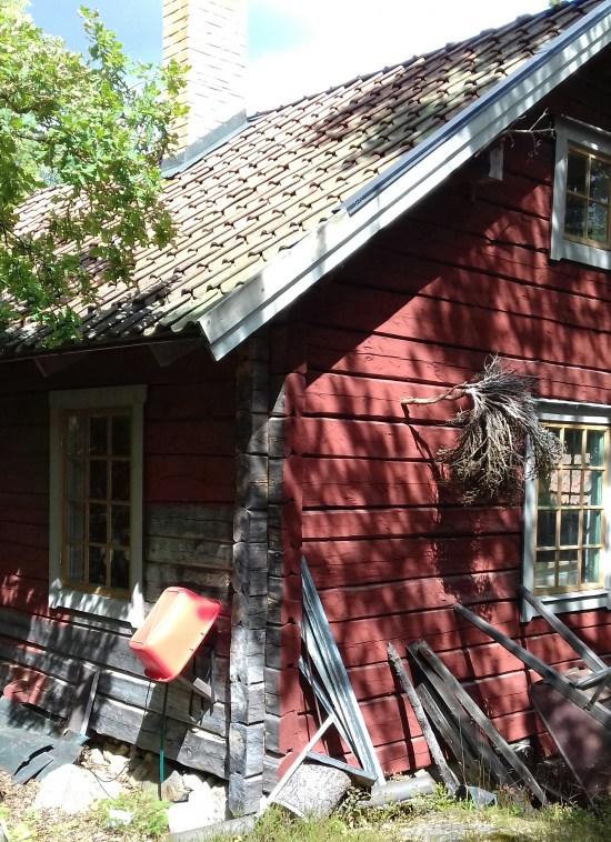 Huset på bilden har inget men den mördade mannen att göra. Foto: Elisabet Höglund