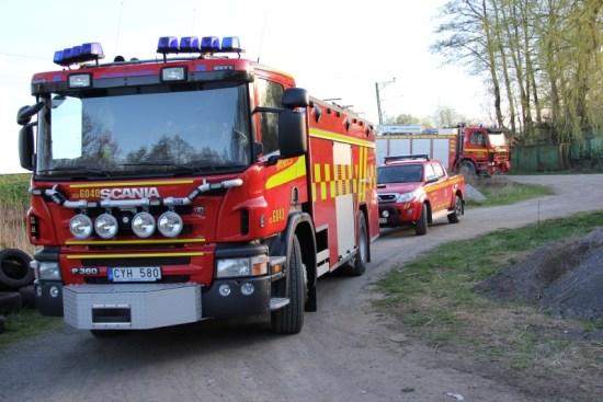 Sex mordbränder i Bromölla i juli Foto: Bromolla.se