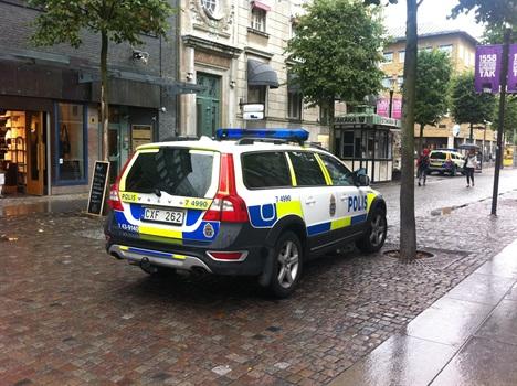 Under torsdagskvällen larmades polisen i Jönköping till två olika fall av misshandel av kvinnor. Bild: jmini.se