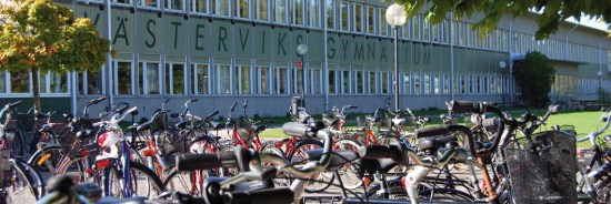 Flera elever blev skadade i samband med ett jätteslagsmål på Västerviks gymnasium den 4 oktober. Foto: vastervik.se