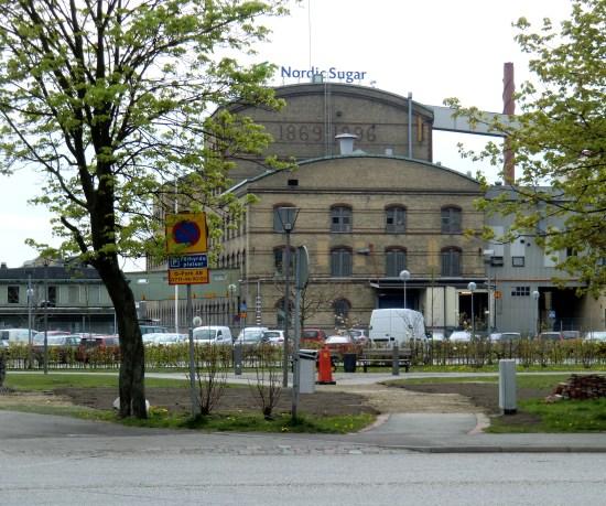 Sockerbruket i Arlöv - inte långt från platsen för skottlossningen Foto. Commons.wikimedia.org