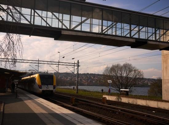 Vid 21-tiden på kvällen utsattes en man för misshandel av en annan man i 20-årsåldern vid Resecentrum i Jönköping. Bild: mapio.net
