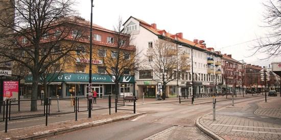 En man blev utsatt för ett rådd mordförsök i centrala Borlänge. Bild: bonial.se
