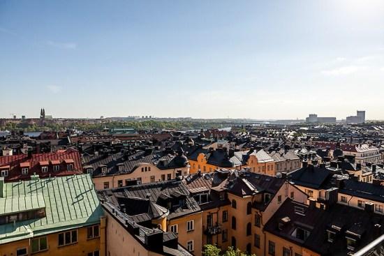 En man blir skadad efter ett våldsamt slagsmål på en restaurang på Kungsholmen i Stockholm. Bild: hemnet.se