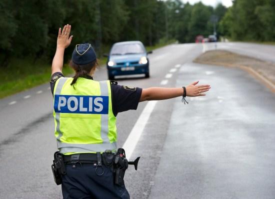 Poliser i arbete Foto: Polisen