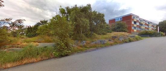 I en tvättstuga här på Briljantgatan i Västra Frölunda i Göteborg dödades två män. Bild: eniro.se