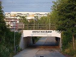 Tre fall av grov misshandel skadade Malmö, bl a stadsdelen Rosengård (bilden) i slutet av september 2016. Foto: sv.wikipedia.org