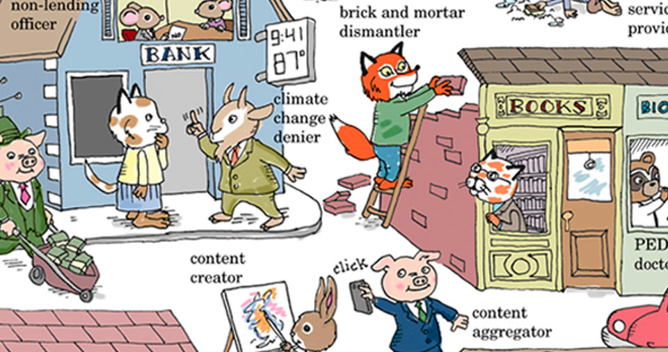 Beloved Children's Book Parody Reveals Scary Truth About The 'New Economy' (IMAGE)