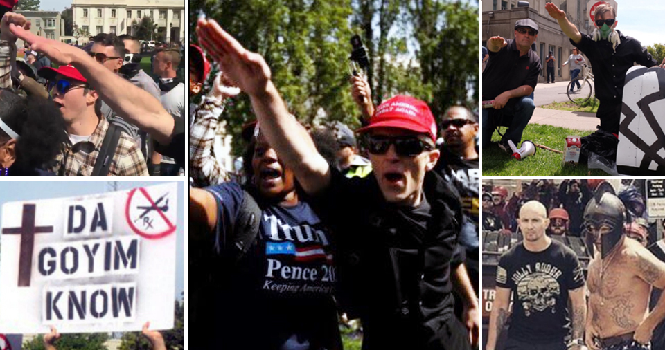 The Media Calls Them 'Trump Supporters' But Actually, They're White Supremacists (IMAGES)