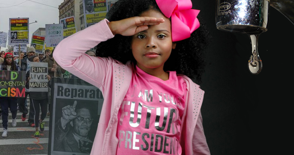 Nine-Year-Old 'Little Miss Flint' Activist Declares, 'I'm Going To Run For President In 2044'