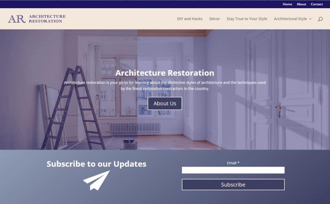 Architecture Restoration