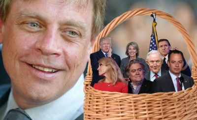 11 2016.11.29 Mark Hamill and his basket of Deplorables