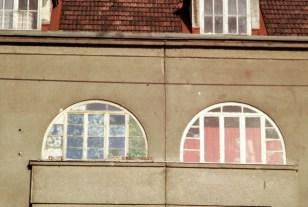 Elisabeth Rass, WINDOW EYES, Serie Stadt/Menschen-Menschen/Stadt, analog photography