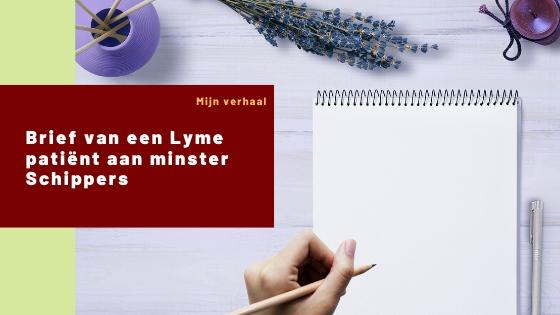 Brief van een Lyme patiënt aan minister Schippers