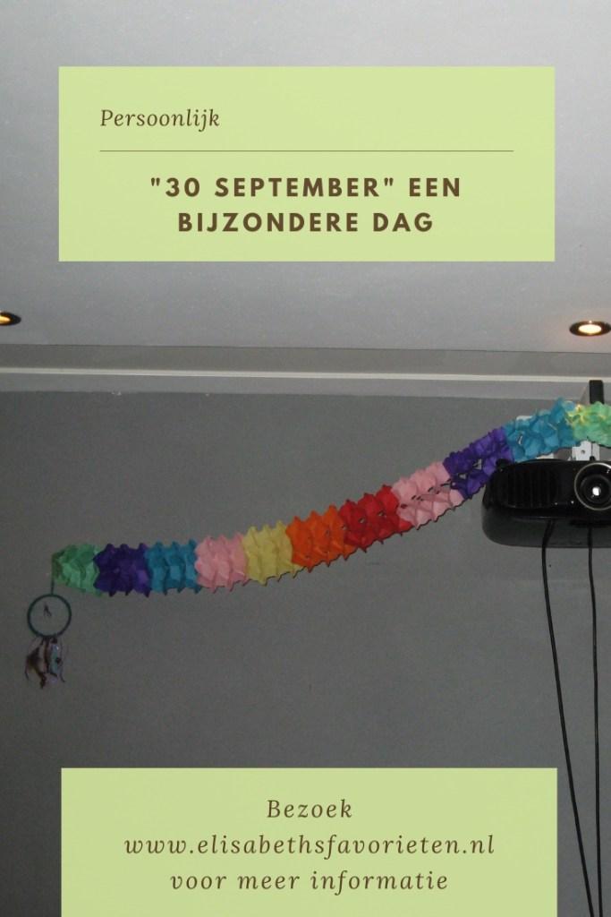 """""""30 September"""" een bijzondere dag"""