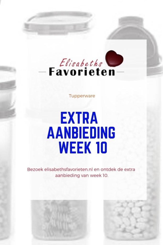 extra aanbieding week 10