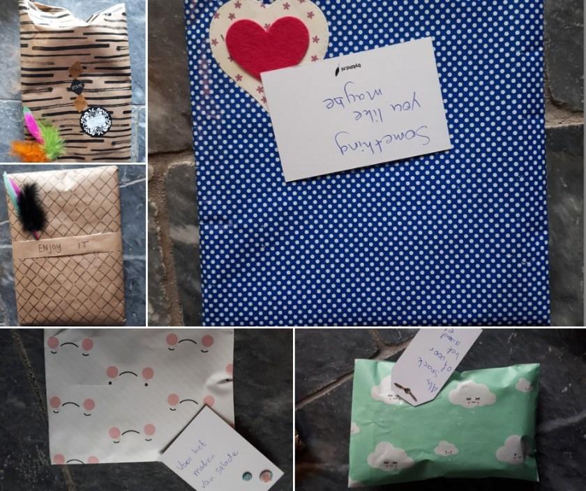EPIC gemaakte cadeautjes met labels