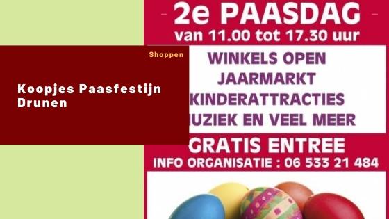 Koopjes Paasfestijn Drunen