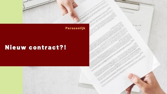 Nieuw contract?!
