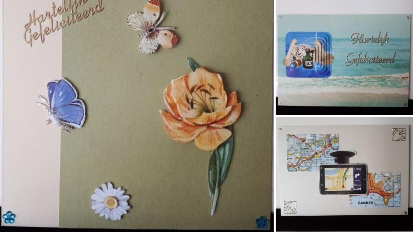 kaarten mei - 3D en recyclen