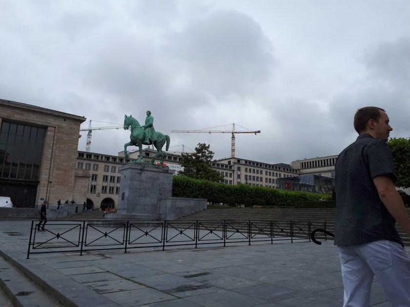 statue du Roy Albert 1 er Brussel
