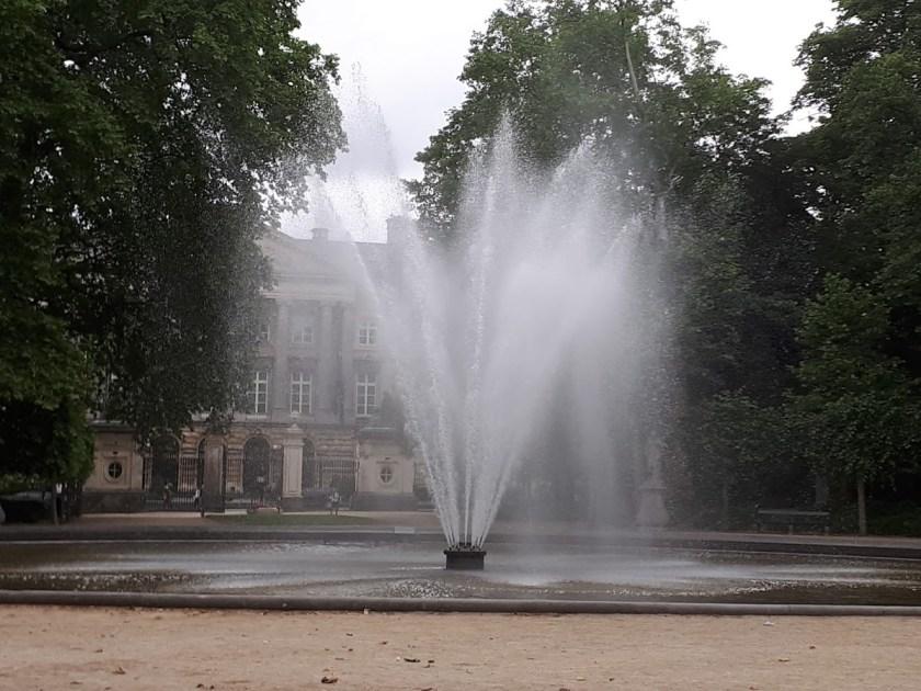 fontein Warandepark Brussel