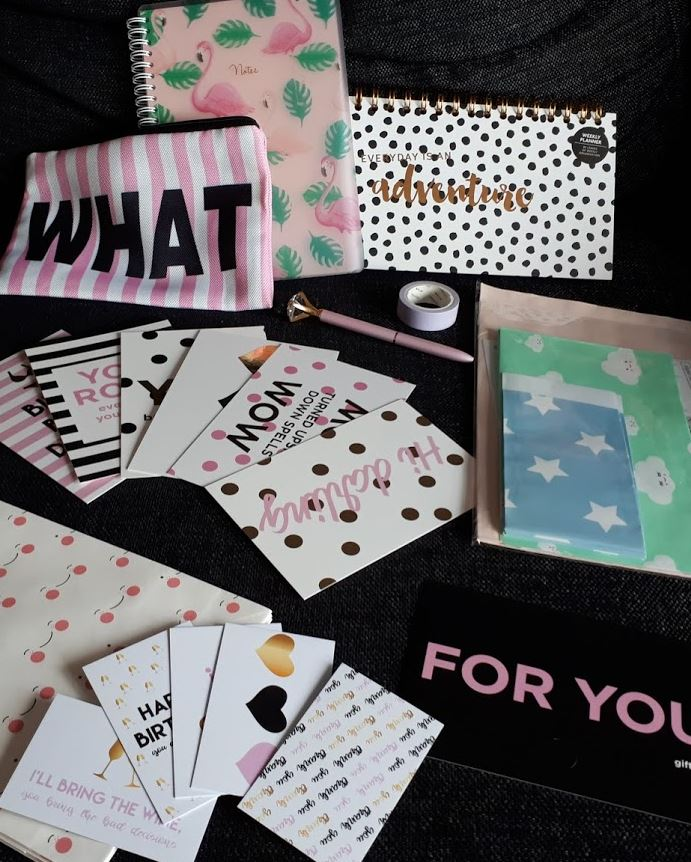alle items uit de surprise box