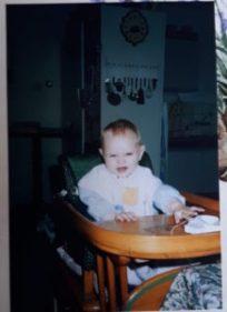 mezelf als kind in foto's - baby