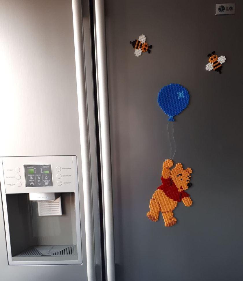 Strijkkralen Winnie koelkast