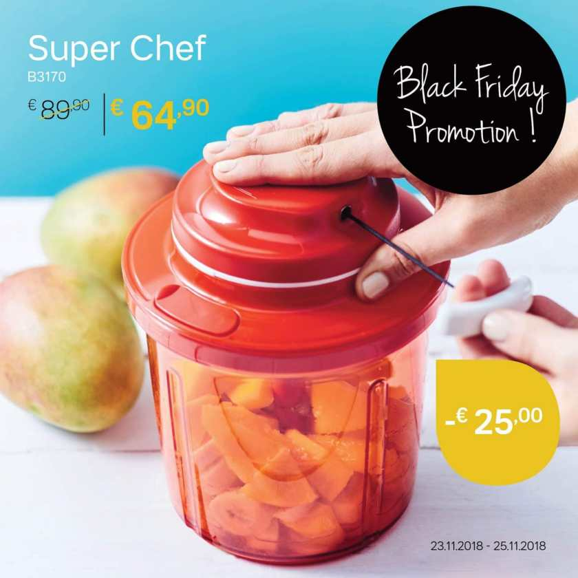 SuperChef black friday aanbiedingen