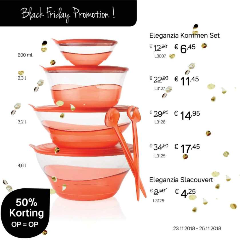 eleganzia schalen black friday aanbiedingen