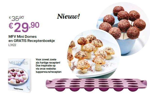 mfv mini domes met gratis receptenboek