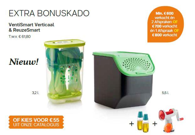ventismart verticaal & ReuzeSmart - extra bonus cadeau