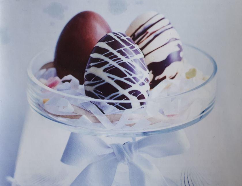 Chocolade-eieren - meerdere kleuren