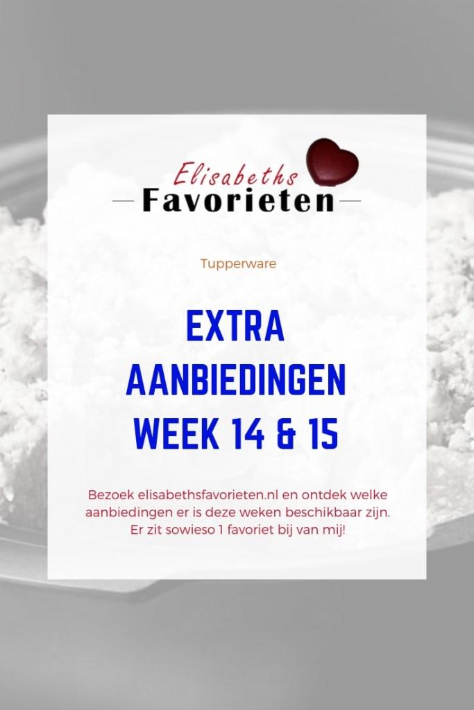 Extra aanbiedingen   week 14 & 15