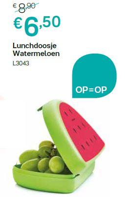 lunchdoosje meloen