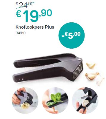knoflookpers plus
