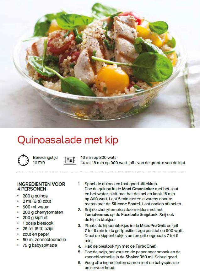 quinoasalade met kip